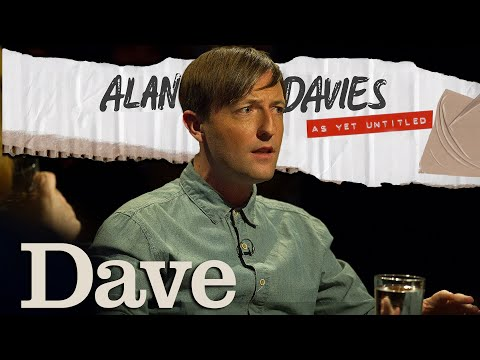 Alan Davies: As Yet Untitled - Andrew Maxwell on Area 51