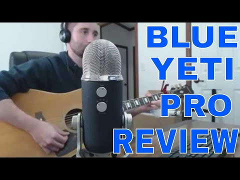 Blue Yeti Pro USB XLR Microphone Audio Sound Test