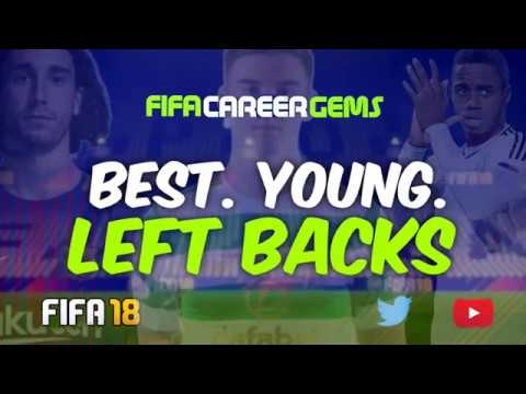 FIFA18: BEST. YOUNG. LEFT BACKS