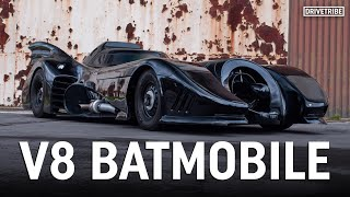 This 1989 Batmobile has a 5.7-litre V8 and actually works