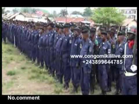 No. comment: KINSHASA: LE GENERAL OLEKO PRÉPARE LA POLICE POUR LES CONCERTATIONS