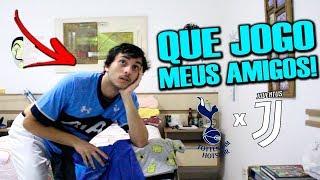 REAÇÃO - TOTTENHAM X JUVENTUS - JOGO DA VOLTA EMOCIONANTE!! // CHAMPIONS LEAGUE OITAVAS DE FINAL