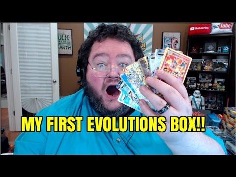 MY FIRST EVOLUTIONS BOX!!