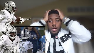 Josh Jacobs Best RB in NFL?? Raiders vs Chargers Reaction!!