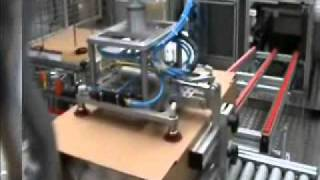 Automated box packing system