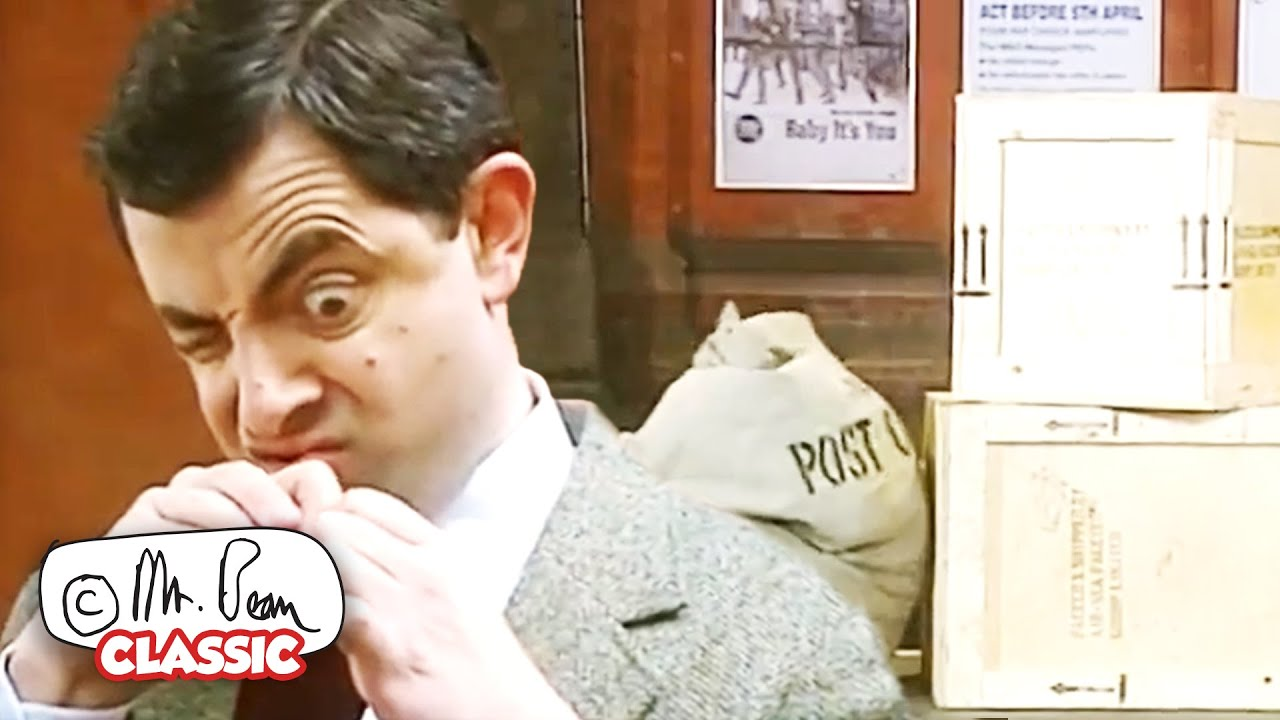 Mailed To Moscow   Mr Bean Funny Clips   Classic Mr Bean