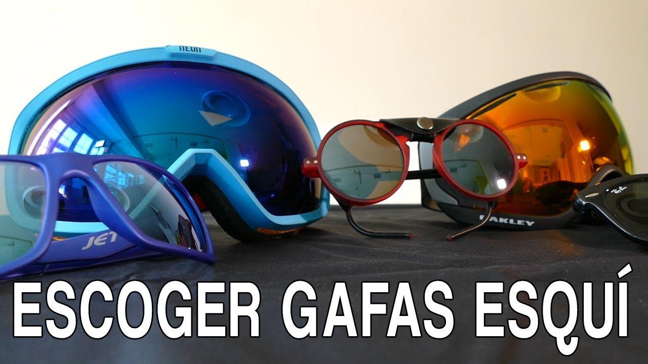 916074a707 Cómo escoger gafas de esquí? - YouTube