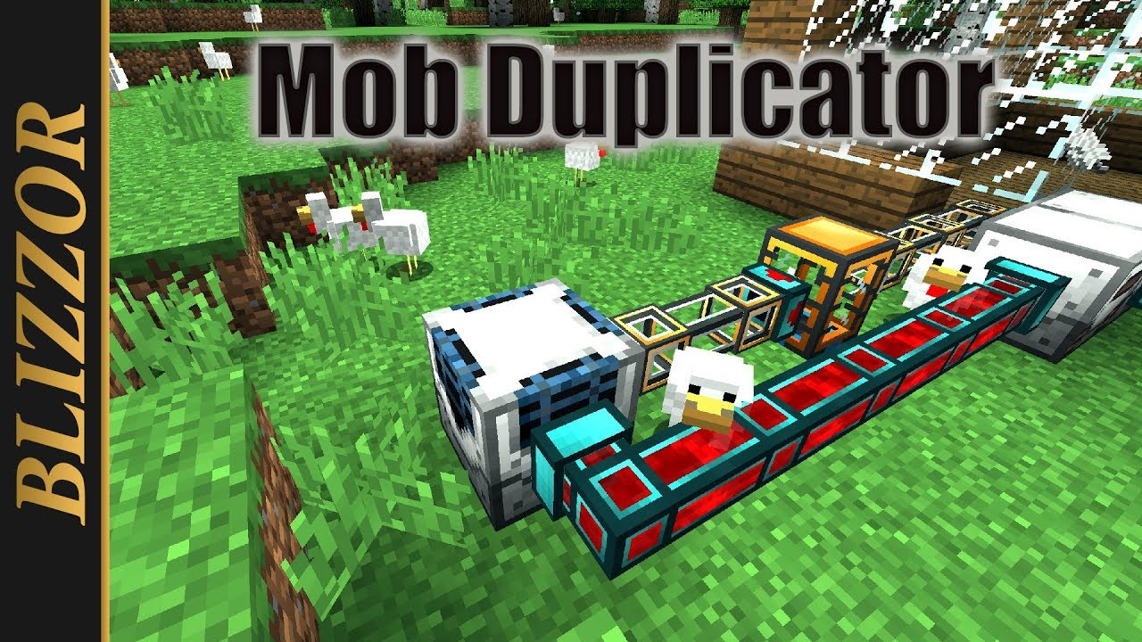 Industrial Foregoing - Mob Duplicator [Tutorial] [Deutsch] [German]