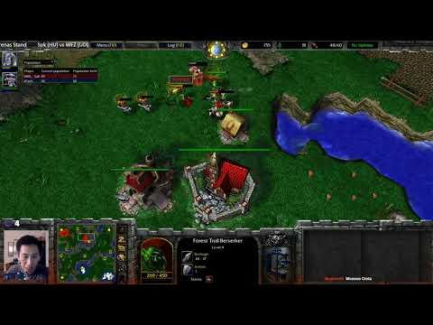 Sok (HU) vs WFZ (UD) - WarCraft 3 - Just one mistake... - WC####