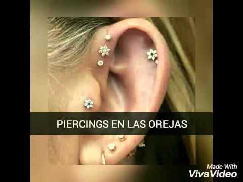Tipos De Piercings En Las Orejas Youtube