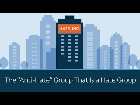 """The """"Anti-Hate"""" Group That Is a Hate Group"""