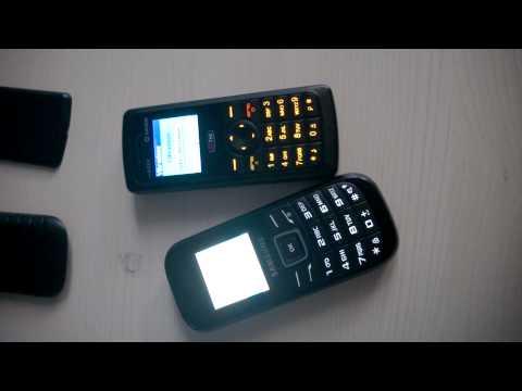 Sagem my202X vs. Samsung E1200 vibration