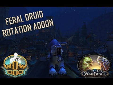 Feral Druid Rotation Addon Updated Shadowlands 9 0 Youtube