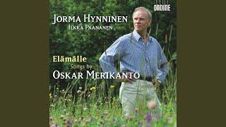 Yksinlauluja (Solo Songs) , Op. 87: No. 2. Suvi-illan vieno tuuli (Summer evening