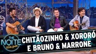 The Noite (16/11/16) - Entrevista com Chitãozinho & Xororó e Bruno & Marrone