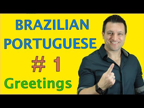 How to Speak Brazilian Portuguese  # 1