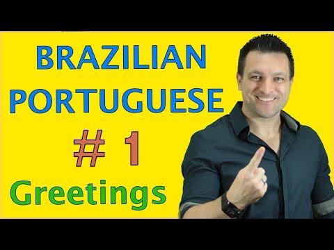 How to Speak Brazilian Portuguese  # 1