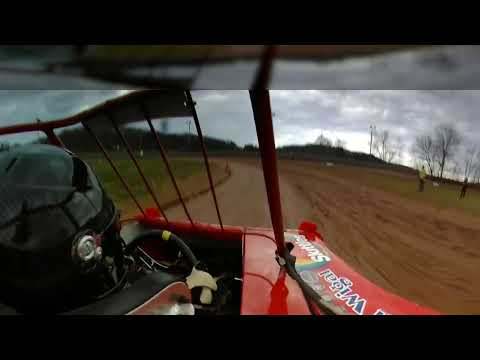 Zach Wigal Ohio Valley Speedway Mini Wedge Heat Race #2. 4 14 18