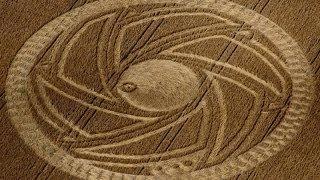 Crop Circle 2013, Etchilhampton, 6 fold geometry