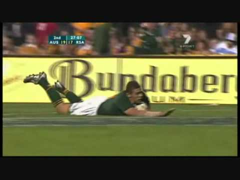 Bryan Habana - The fastest man in rugby