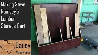 Making Steve Ramsey's Lumber Storage Cart