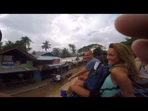 WORLDS LONGEST UNDERGROUND RIVER Philippines Walking Tour PT 1 of 9 Sabang Philippines Michael Fazio