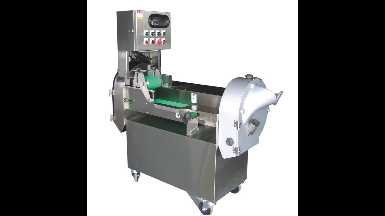 machine for cutting vegetables