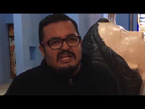 Zóquite viste a Niño Dios Gigante de $300 mil con ropón de 140 metros