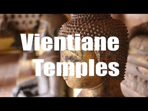 Vientiane temples, Laos