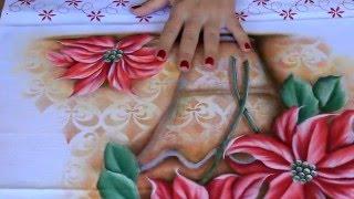 Pintura em tecido – Visita no Atelie – Eliane Nascimento