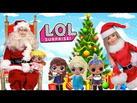 Barbie LOL Family School Holiday Routine With Baby Goldie