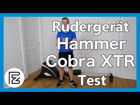 hammer-rudergerät-cobra-xtr-im-test- -mittlere-preisklasse