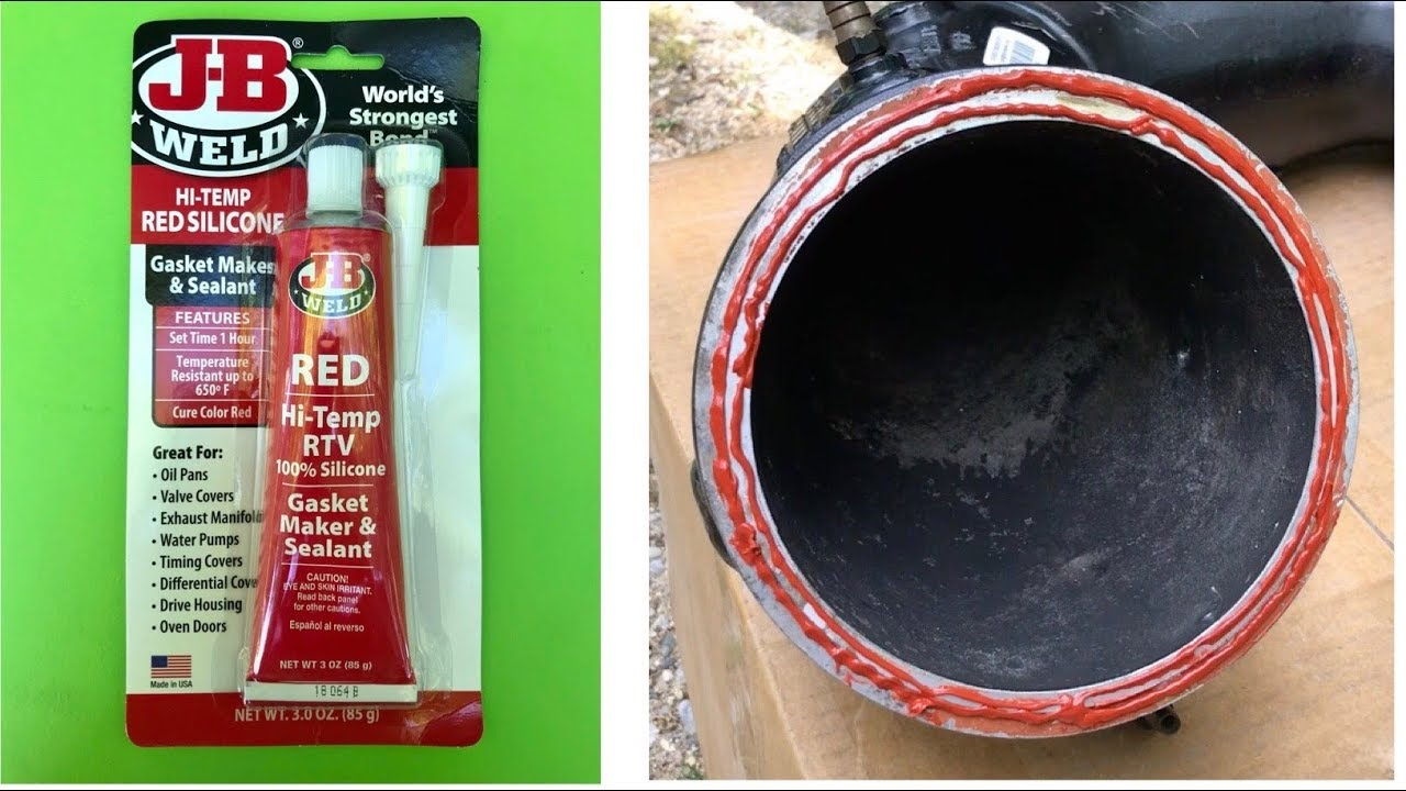 j b weld high temp rtv gasket maker silicone how to apply