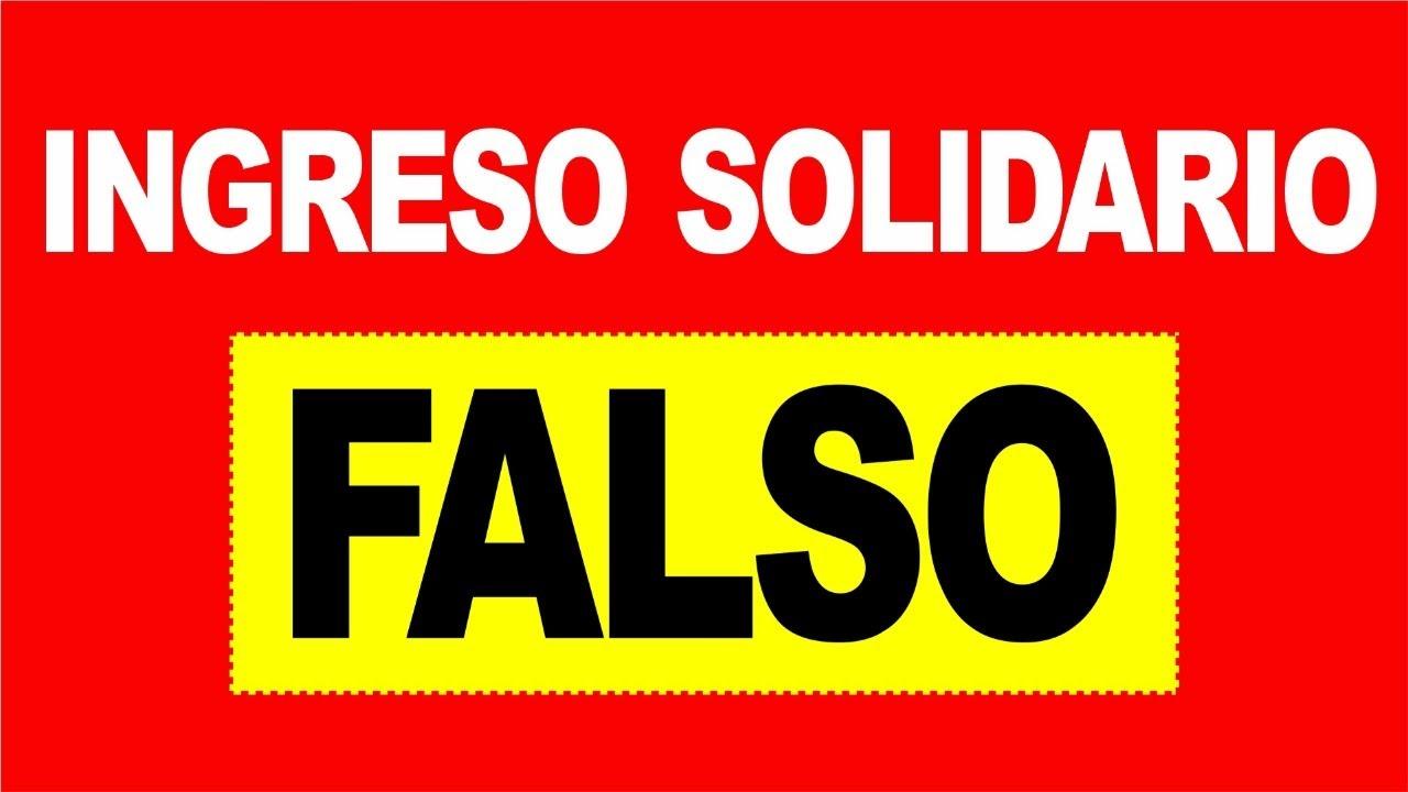 🔴 Advertencia 🔴: INGRESO SOLIDARIO FALSO (Webs Fraudulentas) No Hay Registro | DERECHO COLOMBIANO