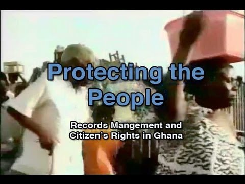 Protecting the People: Records Management and Citizens Rights in Ghana (1996)