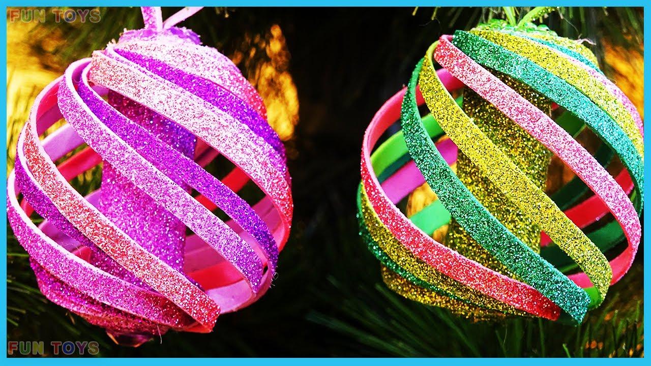 3 DIY Christmas Tree Toys   Creative Ideas 🎄