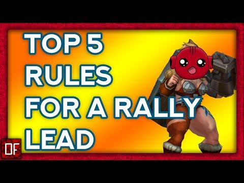 Lords Mobile: The 5 Rules To Being A Rally Lead