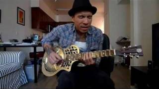 "Lonesome Joseph (aka RJ Ronquillo) playing an original blues, ""If Y..."