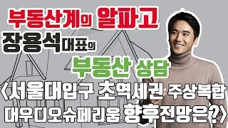 [부동산상담] 서울대입구역 주상복합 대우디오슈페리움 적…