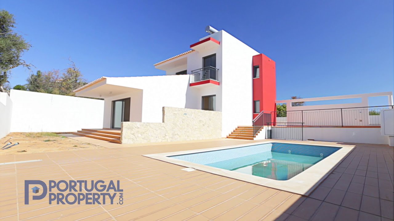 Private Villas In Portugal modern villa minutes from loule with private pool - portugalproperty -  pp2378
