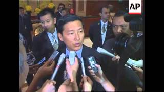 NKor signs non-aggression treaty, closing ceremony