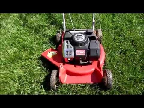 "Toro GTS 120 2-Cycle Suzuki Engine 21""  Lawn Mower Model 16585  - Craigslist Find - April 29, 2014"
