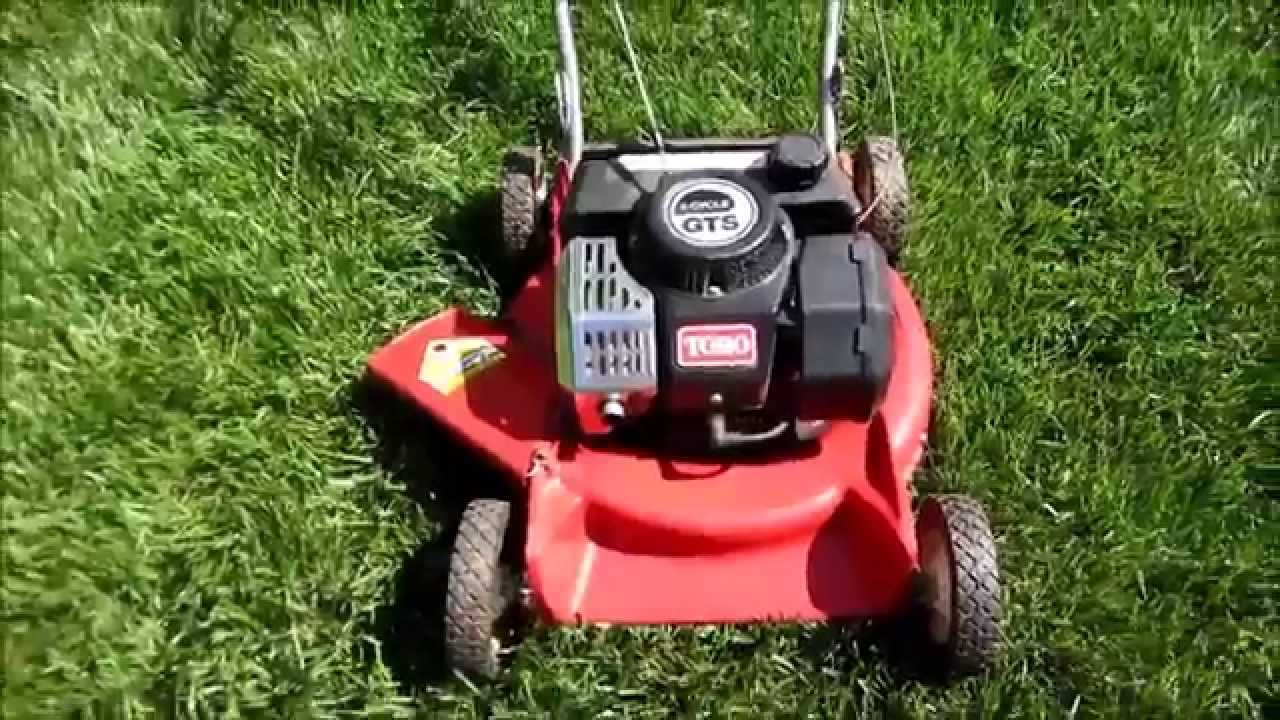 Toro Gts 120 2 Cycle Suzuki Engine 21 Quot Lawn Mower Model