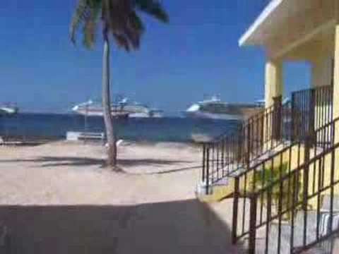 Our apartment complex in Grand Cayman