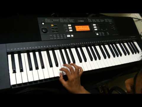 Nee partha vizhigal on keyboard