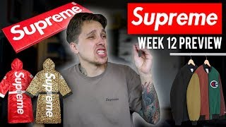 SUPREME DROPS TOMORROW feat. Everlast, Champion, & Levis Collab