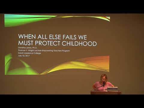 2017 Thomas H. Wright Lecture—Denisha Jones, PhD