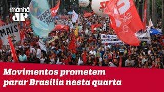 Para pressionar TSE, movimentos prometem parar Brasília nesta quarta (15)