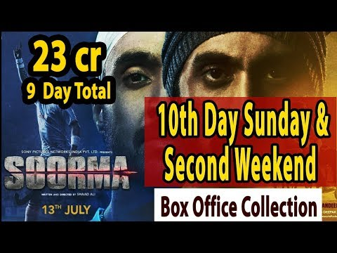 Soorma 10th day Sunday & Second Weekend Box Office Collection Early Trends | Good Hold
