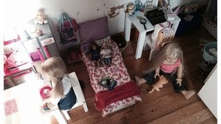 How To Create A American Girl Doll Room!